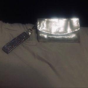 Deux lux bag with rhinestones